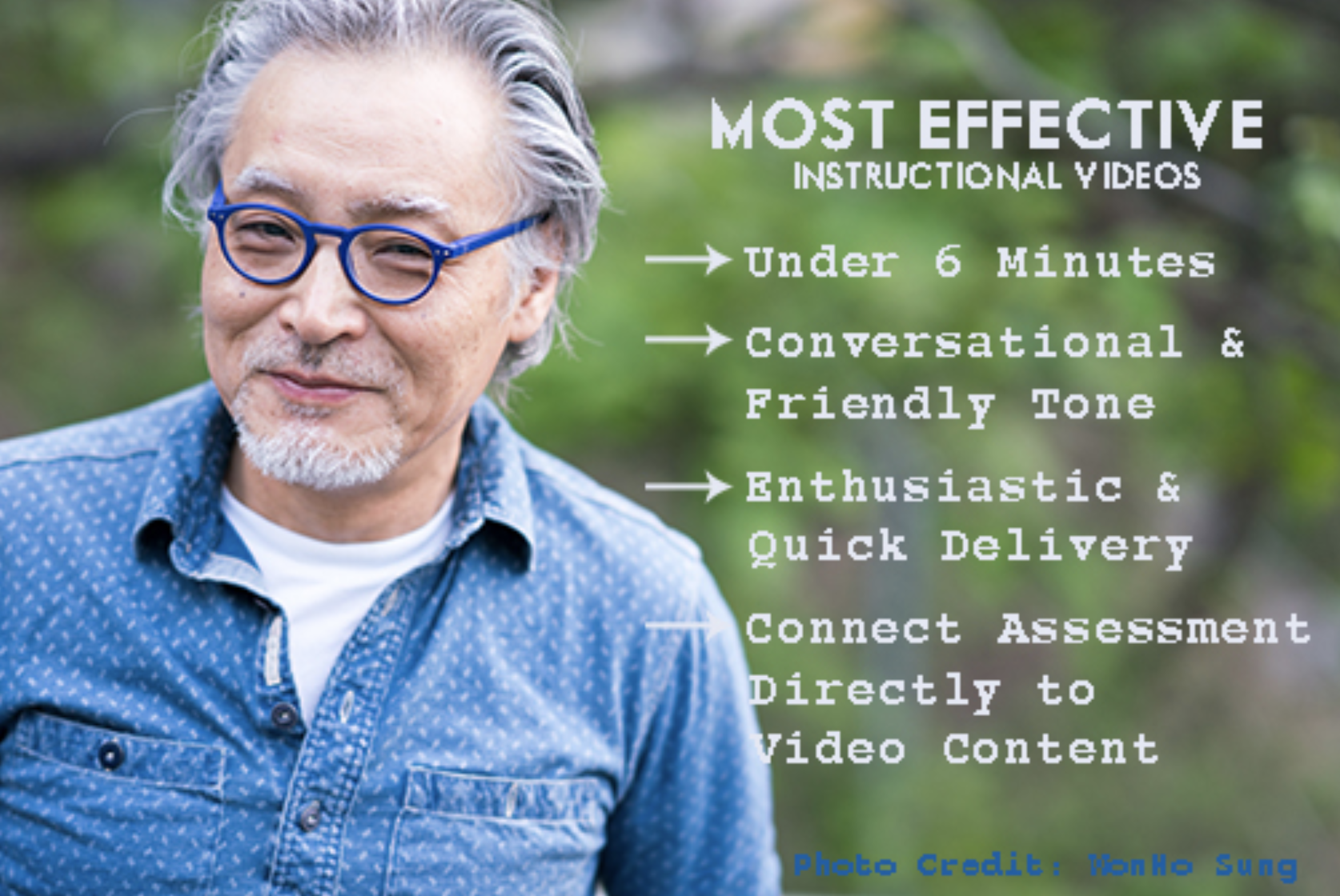 Most Effective Instructional Videos Infographic