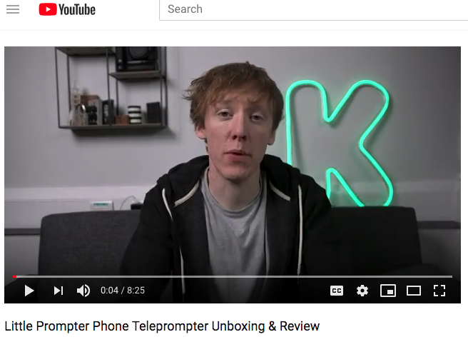 Josh Hicks Reviews the Little Prompter